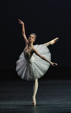 Olga Smirnova in Diamonds